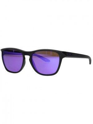 Oakley Oakley Manorburn Matte Black Sunglasses zwart