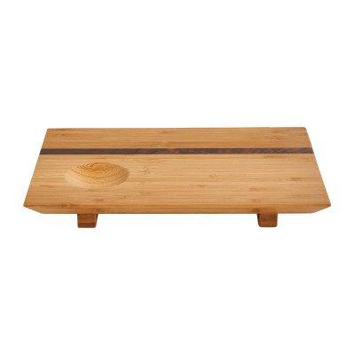 Xenos Bamboe sushi plank - 27x18x3cm