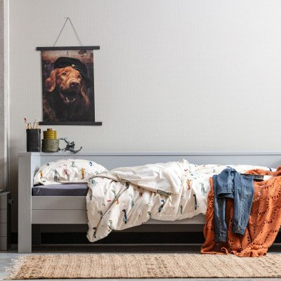 WOOOD Exclusive WOOOD Exclusive Vloerkleed 'Mella' 170 x 240cm, kleur Naturel