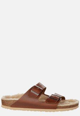 Birkenstock Birkenstock Arizona slippers cognac