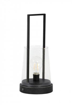 Light en Living Light & Living Tafellamp 'Calry' LED, kleur Mat Zwart