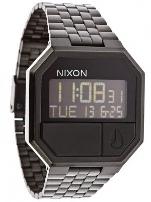 Nixon The Re-Run zwart