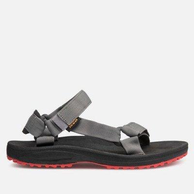 Teva Teva Winsted Solid Sandalen, Zwart / Rood voor Heren, Maat 40.5