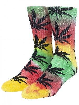 HUF HUF Plantlife Gradient Dye Socks patroon