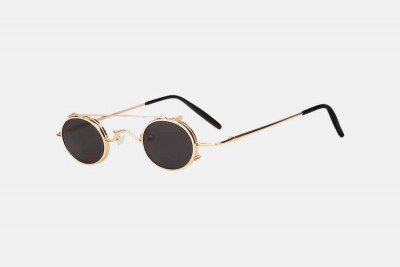 Blank-Sunglasses NL JUNE. - Gold with black