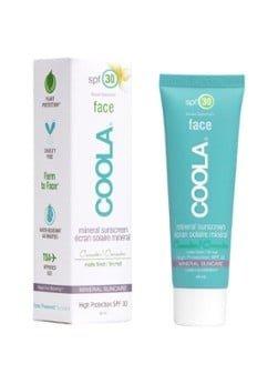 COOLA COOLA Mineral SPF30 Face Matte Sunscreen Cucumber - zonnebrand