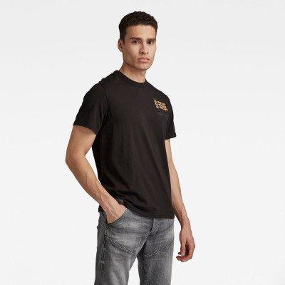 G-Star RAW Big Back Graphic T-Shirt - Zwart - Heren
