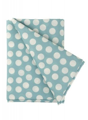HEMA HEMA Tafelkleed - 140 X 200 - Polyester - Blauw Stip (blauw)