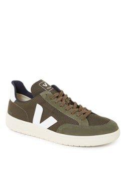 Veja Veja V-12 sneaker met suède details