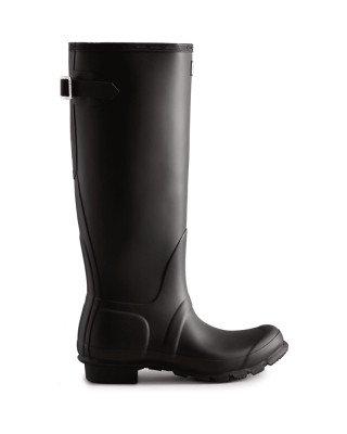 Hunter Boots Women's Tall Back Adjustable Wellington Boots