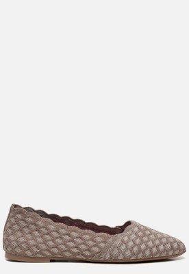 Skechers Skechers Cleo Honeycomb ballerina's taupe