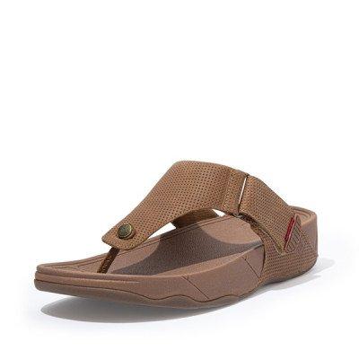 FitFlop FitFlop Trakk II Toe-Thongs slippers bruin