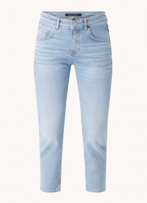Marc O'Polo Marc O'Polo Theda high waist slim fit cropped jeans van biologisch katoen