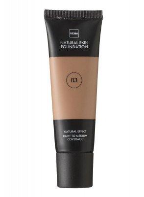 HEMA Natural Skin Foundation Beige 03 (bruin)