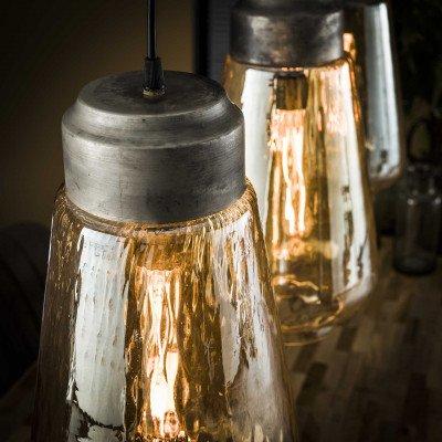 LifestyleFurn Hanglamp 'Natan' 3-lamps