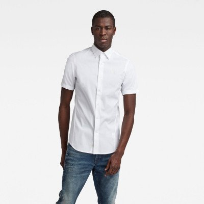 G-Star RAW Dressed Super Slim Shirt - Wit - Heren