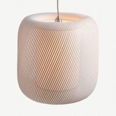 MADE.COM Penny hanglampenkap, zachtgrijs