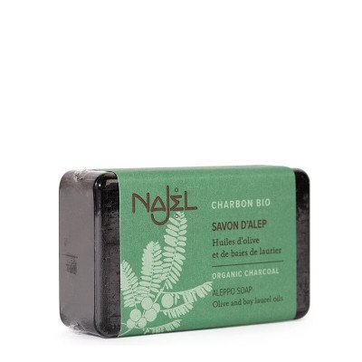 Najel Aleppo Soap met actieve houtskool - 100gr Najel