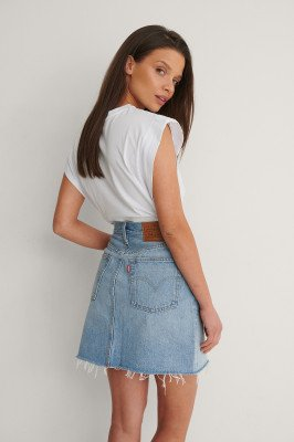Levis Levi's Iconic Bf Skirt - Blue