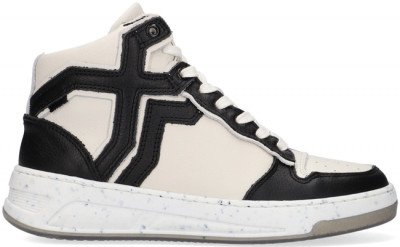 Bronx Gebroken Wit Bronx Hoge Sneaker Old Cosmo