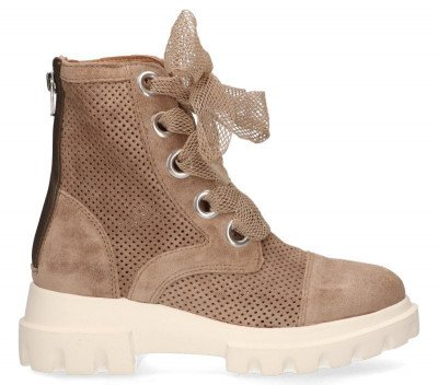 Alpe Alpe 4278 Taupe Dames Veterboots