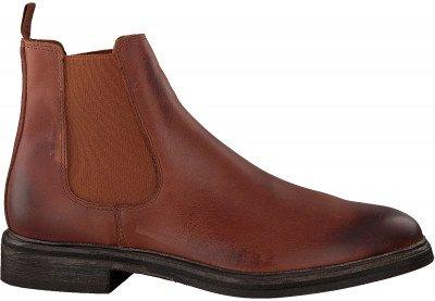 Goosecraft Cognac Goosecraft Chelsea Boots Chet Chelsea