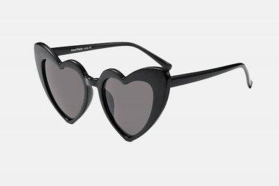 Blank-Sunglasses NL AMOR. - Black with black