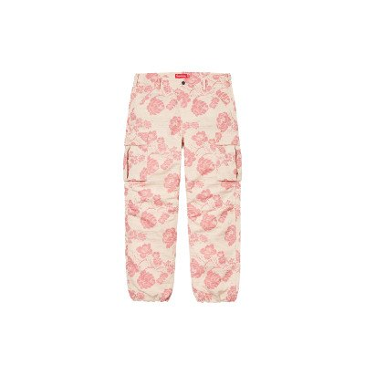 Supreme Supreme Floral Tapestry Cargo Pant Pink (SS21)