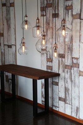 Light en Living Light & Living Hanglamp 'Ilze' 36cm, glas nikkel