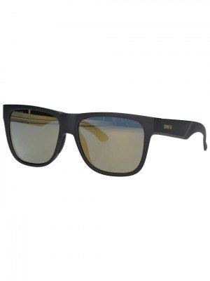 Smith Smith Lowdown 2 Matte Black Gold Sunglasses zwart
