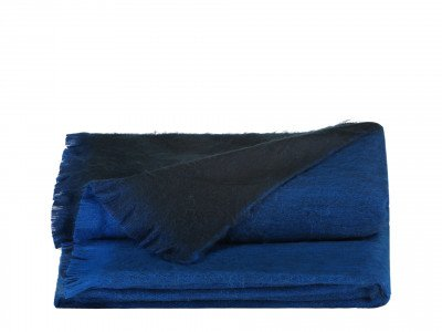 Alpaca Loca Double Plaid Azure / Royal Blue