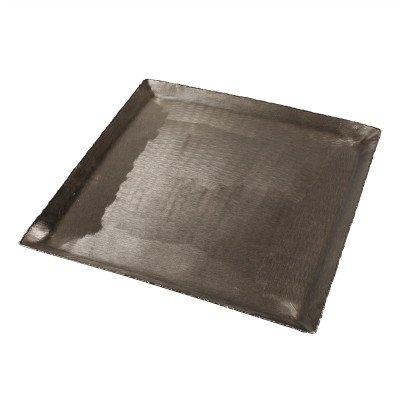 Firawonen.nl PTMD Pearce Silver geborsteld alu sheet schaal vierkant