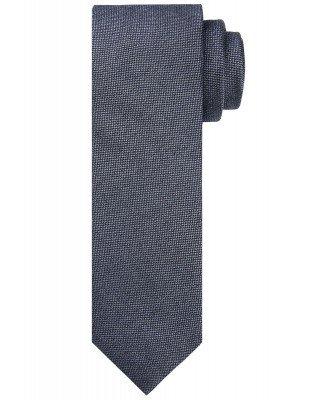 Profuomo Profuomo heren blauwe zijden stropdas