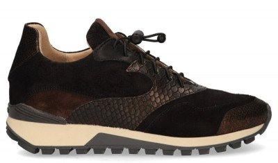 VIA VAI VIA VAI Lynn Rive Pollock Zwart Damessneakers