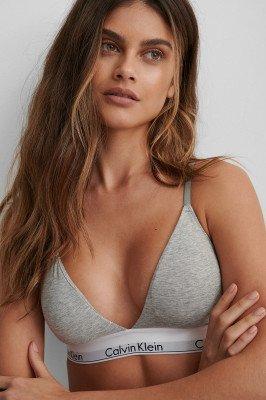 Calvin Klein Calvin Klein Triangel-Bh In Modern Katoen - Grey