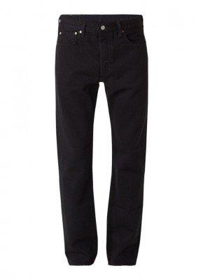 Levi's Levi's 501 high rise straight fit jeans met knoopsluiting