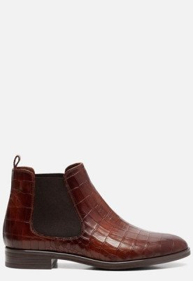 Linea Zeta Linea Zeta Chelsea boots cognac