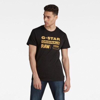 G-Star RAW Raw. Graphic Slim T-Shirt - Zwart - Heren