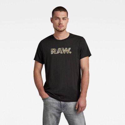 G-Star RAW RAW. Graphic T-Shirt - Zwart - Heren