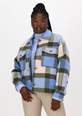 Selected Femme Multi Selected Femme Jack Slfremi Check Shirt Jacket B
