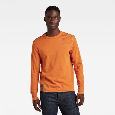 G-Star RAW Back Graphic Tweeter T-Shirt - Oranje - Heren