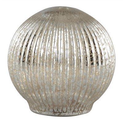 Firawonen.nl PTMD abigail goud verlichting glazen bal led l