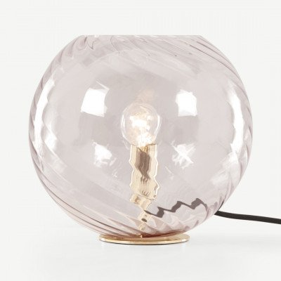 MADE.COM Illaria tafellamp, opaalroze