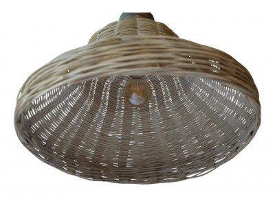 PTMD PTMD Hanglamp 'Rayen', Riet, 42 x 40cm, kleur Naturel