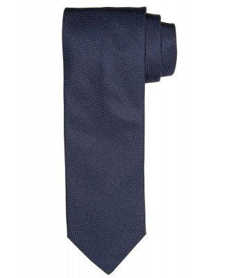 Profuomo Profuomo heren navy oxford zijden stropdas