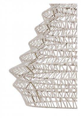 vtwonen vtwonen Hanglamp 'Flame' 55cm, leer naturel