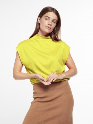 Beaumont Beaumont Punta top - Lime