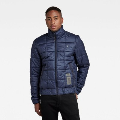 G-Star RAW Meefic Square Quilted Jack - Donkerblauw - Heren