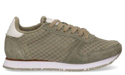 Woden Woden Ydun WL030 Groen Damessneakers