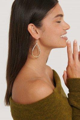 NA-KD Accessories NA-KD Accessories Tweekleurige Hangende Oorbellen - Multicolor